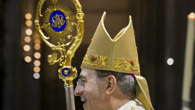 El arzobispo de Sevilla, Juan José Asenjo, en una imagen de archivo