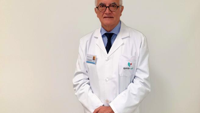 El jefe del servicio de Ginecología y Obstetricia del Hospital Quirónsalud Málaga, el doctor Andrés Carlos López Díaz.