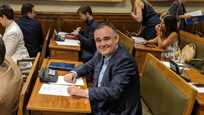 El senador del PRC Fernández Viadero, portavoz del Grupo Mixto en las comisiones de Agricultura y Ciencia