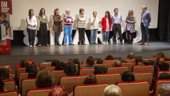 El vicepresidente de Cantabria, Pablo Zuloaga, en la presentación de las actividades por el 8M