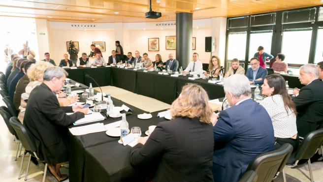 La consejera de Turismo del Gobierno de Canarias, Yaiza Castilla, preside el Consejo Canario de Turismo