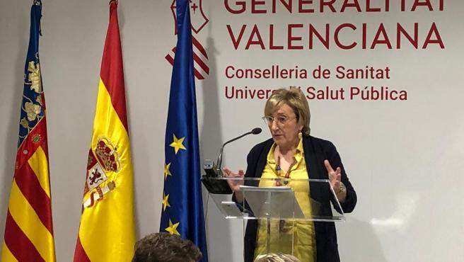 La consejera valenciana de la Generalitat Valenciana