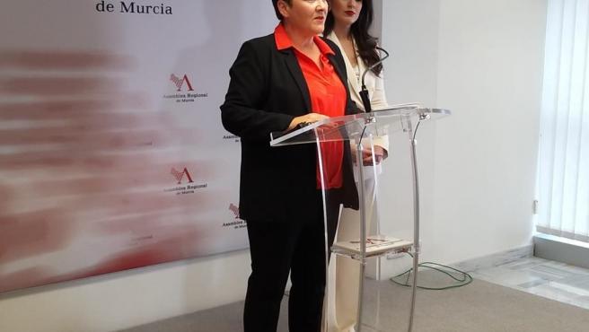La diputada regional del PP, Inmaculada Lardín