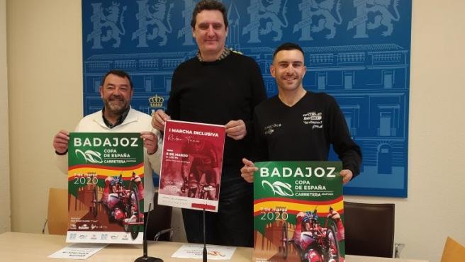 Presentación de la Copa de España de Ciclismo Adaptado en Badajoz