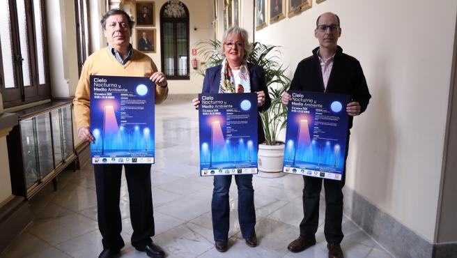 Presentación de las Jornadas Cielo Nocturno y Medio Ambiente en el Ayuntamiento de Málaga