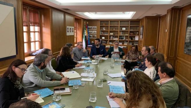 Reunión de las DOP e IGP con el diputado de Desarrollo Sostenible, Álvaro Sánchez Cotrina