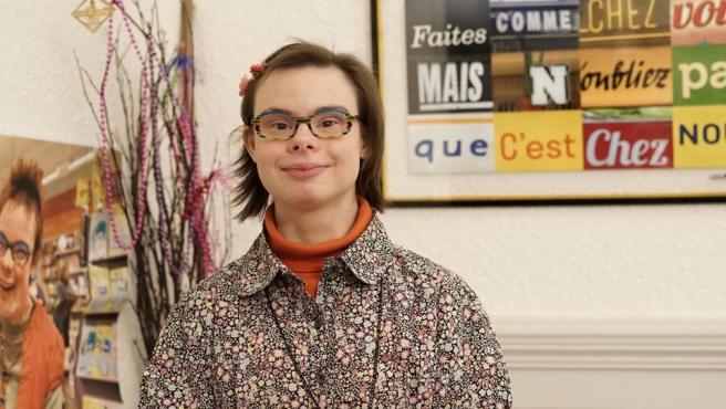 Eleéonore Laloux, la primera mujer con Síndrome de Down que aspira a un cargo como Concejal en Francia.