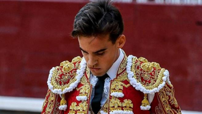 Gonzalo Caballero, el torero de 28 años.