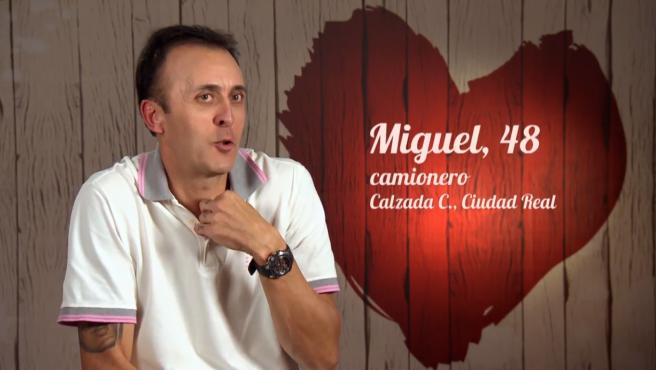 Miguel, en 'First dates'.