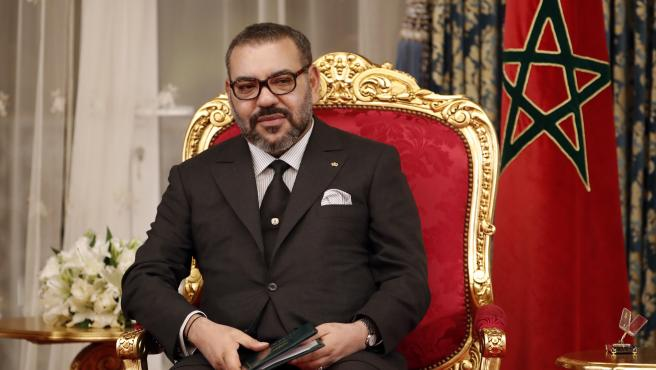El rey Mohamed VI de Marruecos, en febrero de 2019.