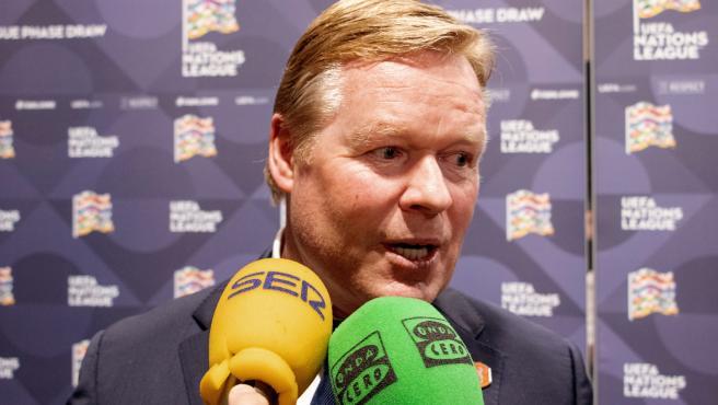 Ronald Koeman, seleccionador de Países Bajos.