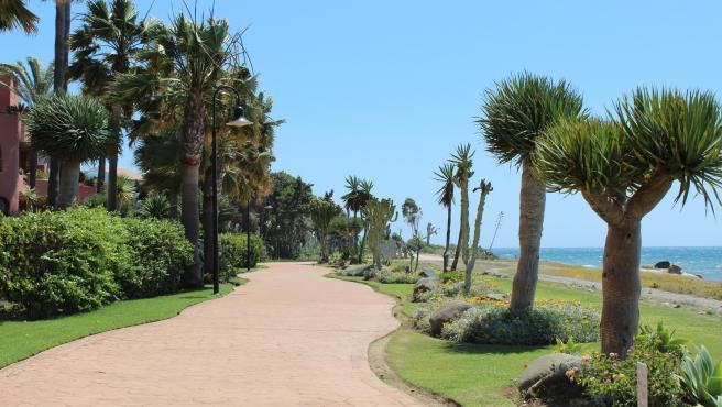 Corredor litoral en Estepona