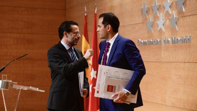 Foto recurso Javier Fernández-Lasquetty junto a Ignacio Aguado