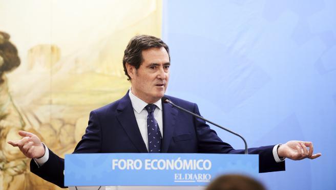 05/03/2020 SANTANDER EP FORRO DEL DIARIO Antonio Garamendi, presidente de la CEOE FOTO: JUAN MANUEL SERRANO ARCE