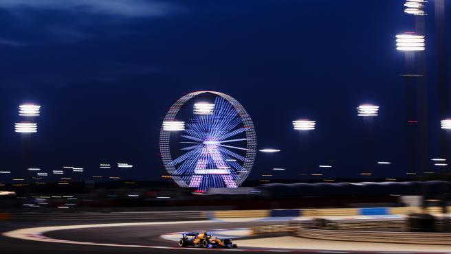 Lando Norris, durante el GP de Bahrein de 2019.