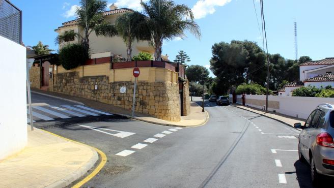 Obras de mejora de la red de saneamiento y pluviales en la zona de Seghers de Estepona