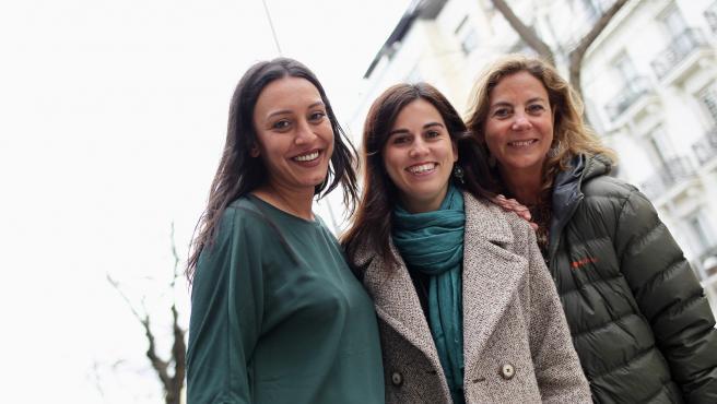 Patricia Caro, María Quiroga y Paloma Pastor