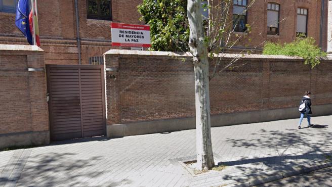 Residencia de Mayores de La Paz en Madrid.