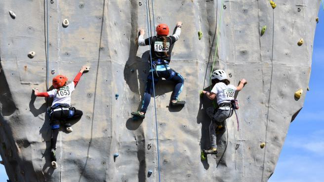 Escalada en el Campoenato y Copa de Andalucía de escalada de dificultad