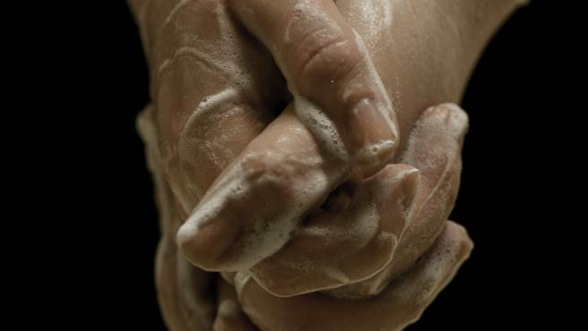 Lavar, manos, jabón