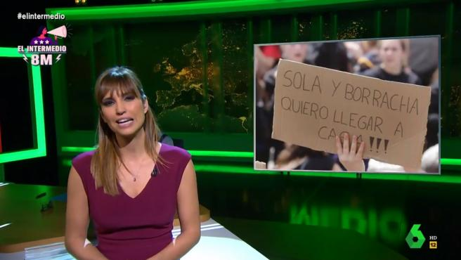 Sandra Sabatés hablando sobre la polémica de la nueva Ley de Libertad Sexual.