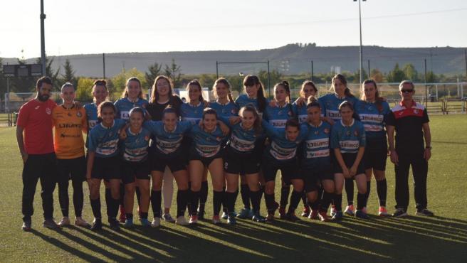 Jugadoras de la SD Logroñés.