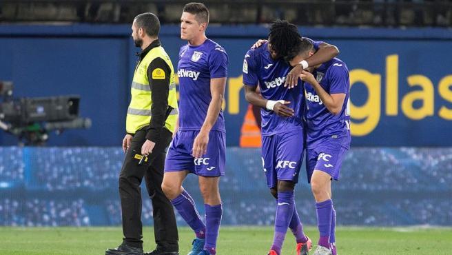 El Leganés gana al Villarreal