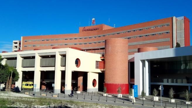 Hospital Clínico Universitario Virgen de la Arrixaca en Murcia.