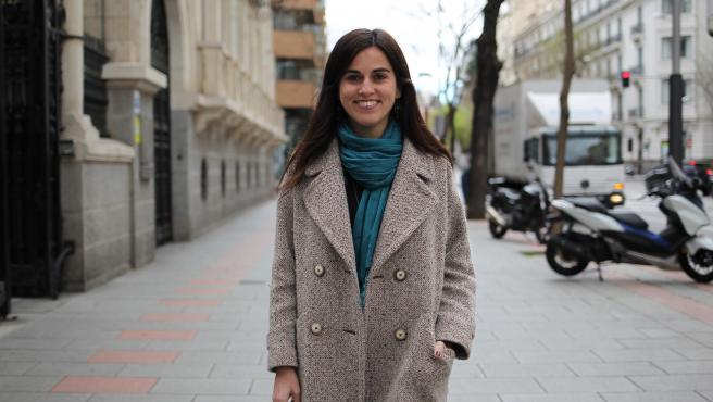 María Quiroga, ganadora del Premio Avanzadoras 2020.