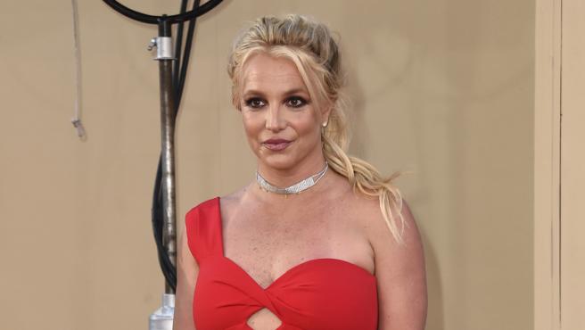 Britney Spears en el estreno de 'Érase una vez en... Hollywood'.