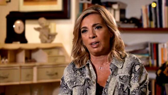Carmen Borrego en 'Ven a cenar conmigo: Gourmet Edition'.