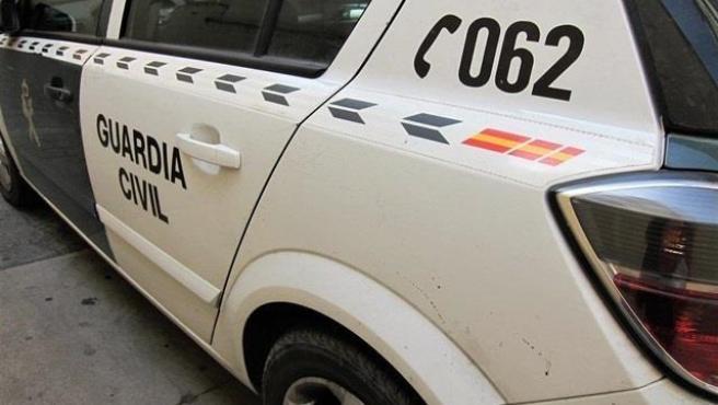 Cotxe patrulla de la Guàrdia Civil