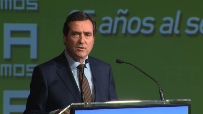 Garamendi (CEOE) pide tranquilidad a los inversores