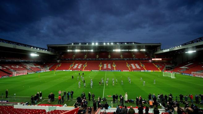 El público podrá asistir a Anfield a ver el Liverpool - Atlético de Madrid.