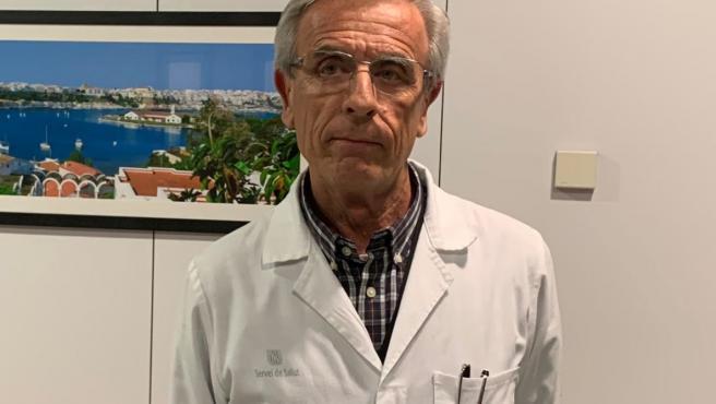 El gerente del área de Salud de Menorca, Romà Julià.