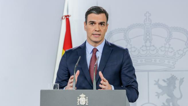 El presidente del Gobierno, Pedro Sánchez, analiza el impacto del coronavirus