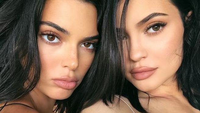 Kylie ha maquillado a su hermana en Keeping up with the kardashians.