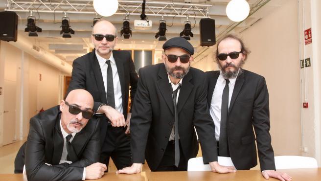 Chema Pérez, David Krahe, Josele Santiago y Fino Oyonarte.
