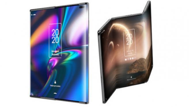 El móvil de pantalla extensible y la tableta que se dobla en tres