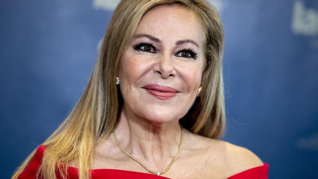 La actriz y presentadora Ana Obregón.