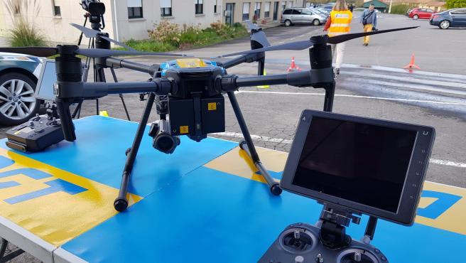 Dron de la DGT.