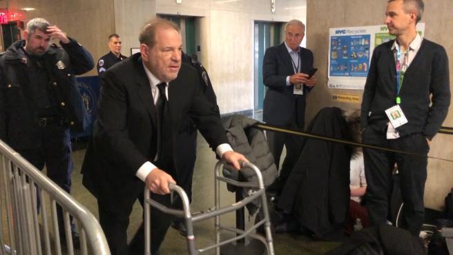Weinstein condenado a 23 años de cárcel por violación y agresión sexual