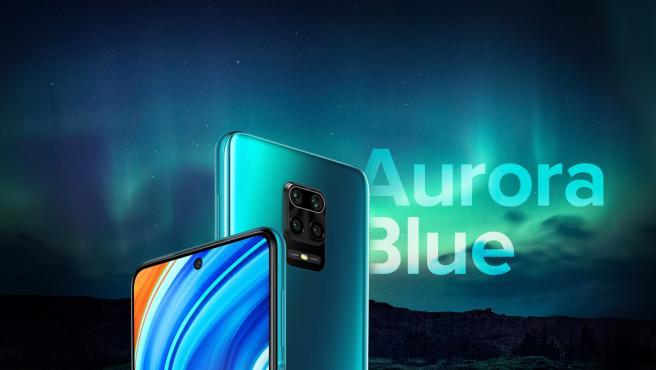 Redmi Note 9 Pro y 9 Pro Max llegan en tres colores, entre ellos el 'Aurora Blue'.