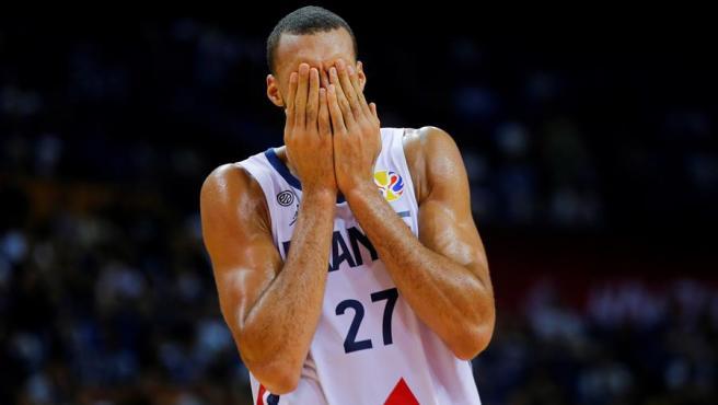 El jugador francés, durante un partido de su selección en el Mundial de China.