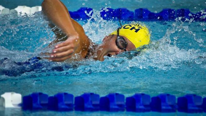 Deportista, deporte, natación, nadador.