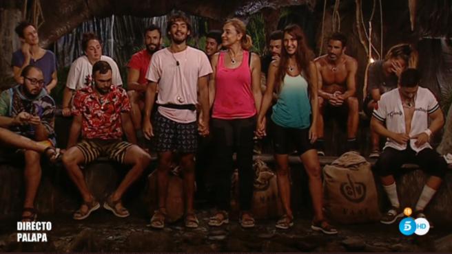 Ana María Aldón y Alejandro Reyes abandonan 'Supervivientes 2020'.