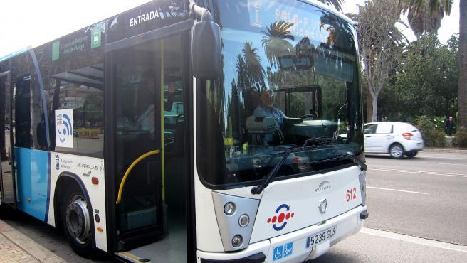 Autobús de la EMT Empresa Malagueña de Transportes