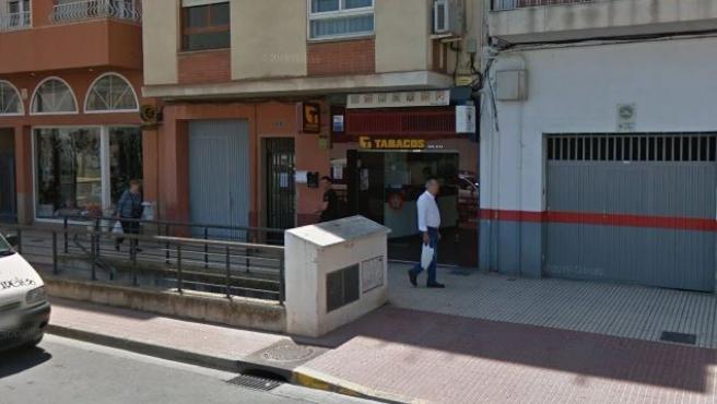 Imagen de la avenida Cardenal Costa de Castellón.