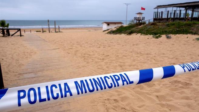 Cierre de playas para frenar el coronavirus en España