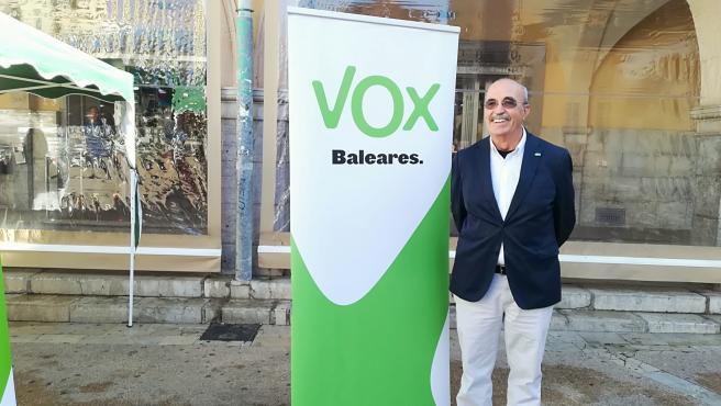 El diputado de Vox por Baleares en el Congreso, Antonio Salvá.